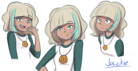 Star vs the Forces of Evil: Jackie sketches by Mgx0
