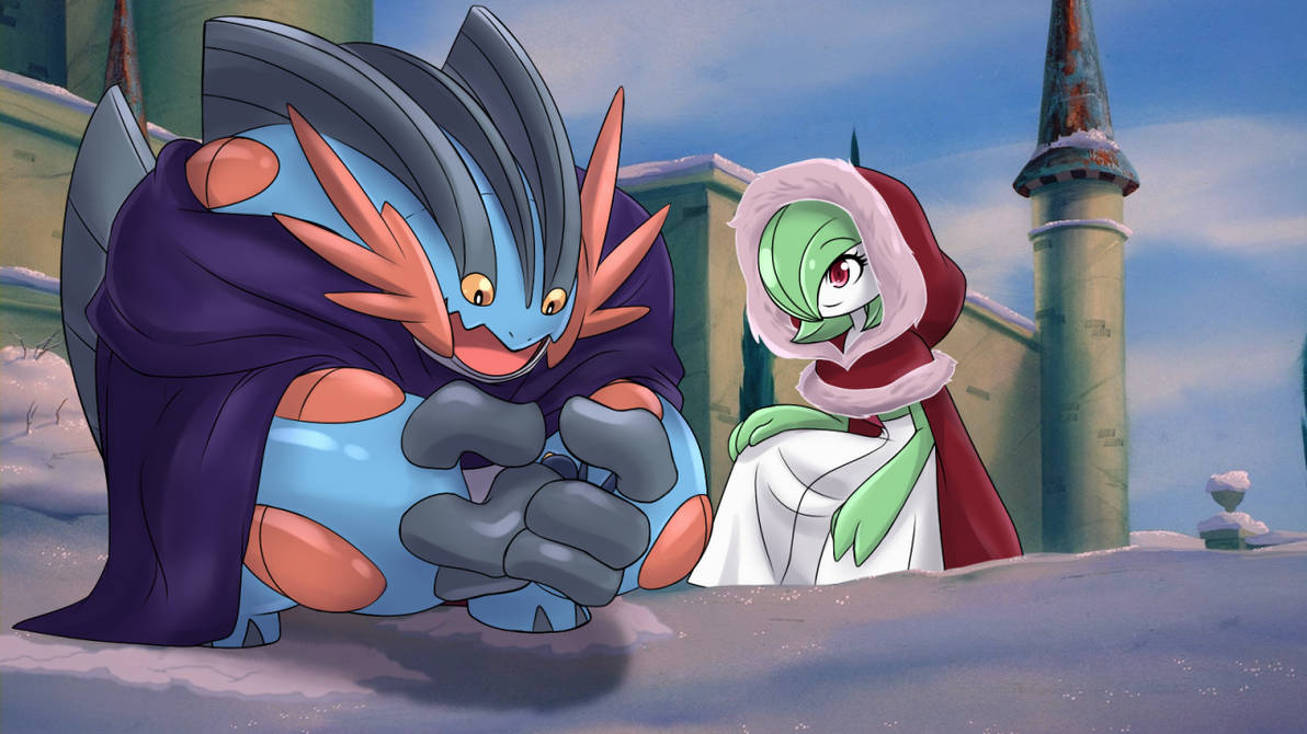 Beauty and the..... Swampert??? by Mgx0