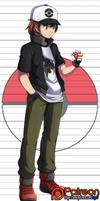 Patreon Reward:  Pokemon Trainer Alec by Mgx0