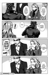 Persona 5 x Jojo Comic - Chapter 1 Page 1 by Mgx0