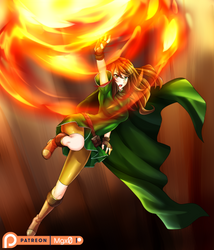 Commission: Rising Flame by Mgx0
