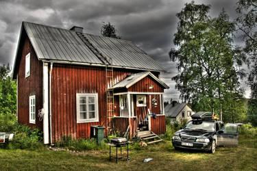 House in Jamtland HDR by callegg