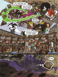 Mechanaflux #2 - Page 6 Final by thescarletspider