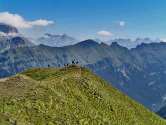 Walking the mountain by edelweiss26