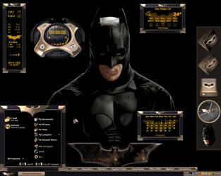 Ultimate Batman Desktop by a666a