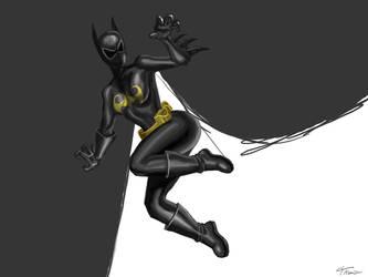 batgirl by sdellapina