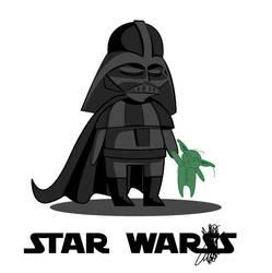 Chibi Vader by sdellapina