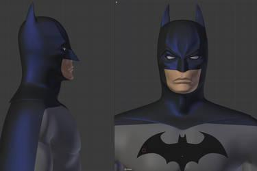 The Goddamn Batman Wip by sdellapina