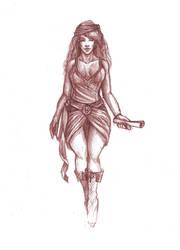 Asmillada - sketch by sdellapina