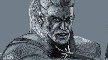 Geralt of Rivia - Act II by sdellapina