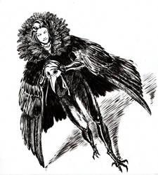 Raven king by Dejavidetc