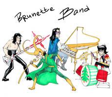 Brunette Band by Dejavidetc