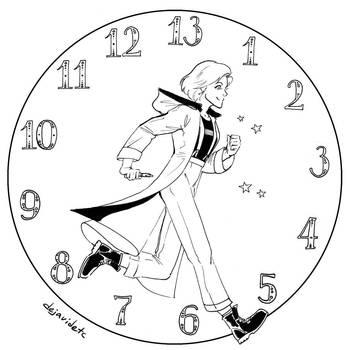 Clock by Dejavidetc