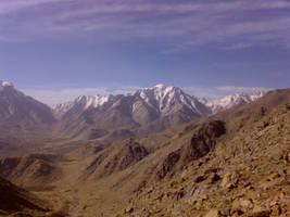 Shirkoh mountain by zerosector