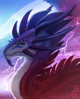 Zyraxus the Storm Dragon by Zyraxus