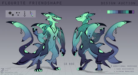 [CLOSED] Design Auction: Fluorite Friendshape by Zyraxus
