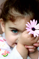 Flower girl by Kaya-Nurel