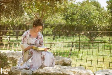 In Jane Austen's garden by Kaya-Nurel
