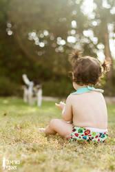 On the grass by Kaya-Nurel