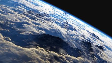 Mountains from Space by xxxmaxamxxx