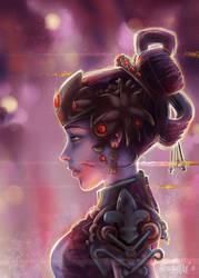 patience -Widowmaker Black Lily by Enamaeris
