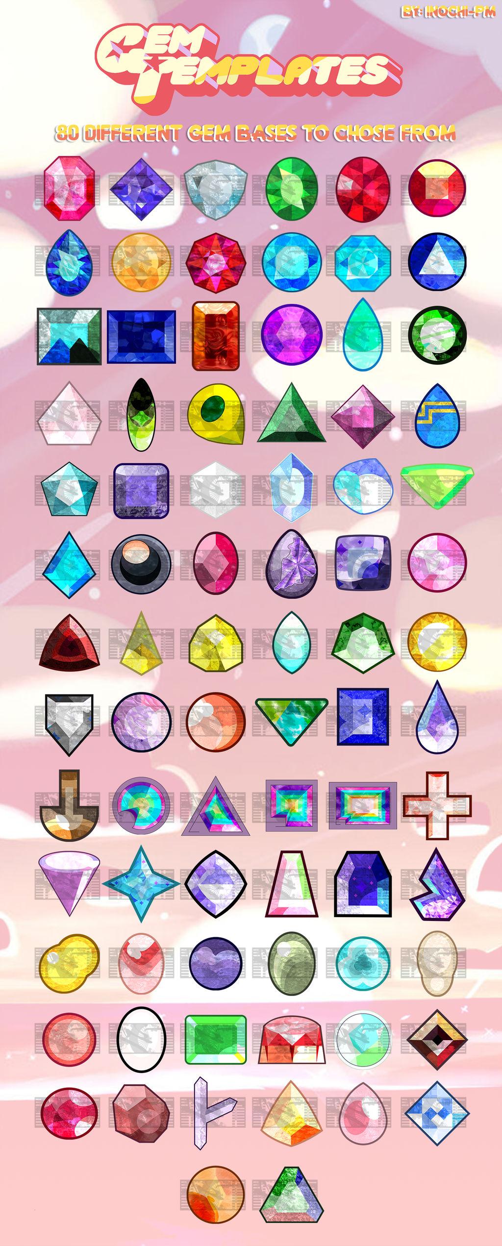 steven universe gem base template by inochi pm on deviantart