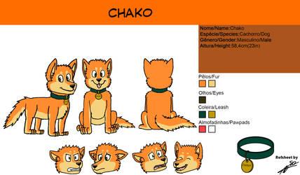 Commission Refsheet Chako by AcirGomes