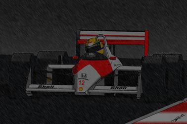 McLaren na Chuva by AcirGomes