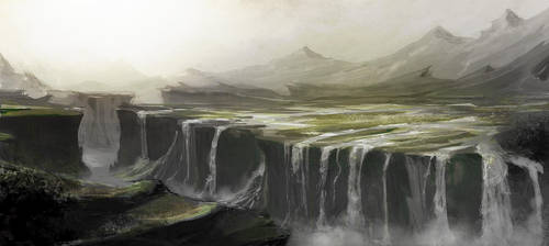 Victoria falls by MittMac