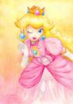 Princess Peach - SSB by Ma-yara