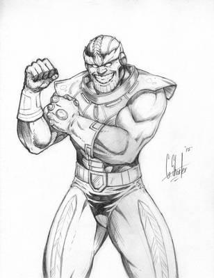 Thanos by grantshorterart