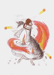 Katniss Transforms by FrizziIzzi