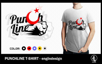 PunchLine T-Shirt by engin-design