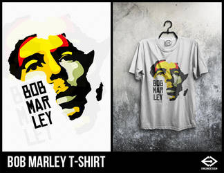 Bob Marley T-Shirt by engin-design