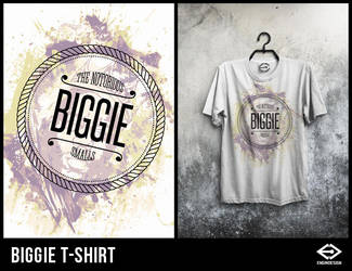 Biggie T-Shirt by engin-design