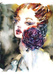 Purple flower by Esylvia