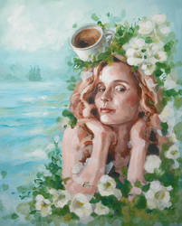 Julie Delpy by EliCupcake
