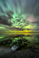 Aurora In the Clouds by MarshallLipp