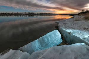 Moonlite Missouri River by MarshallLipp