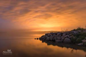 Orange Glow by MarshallLipp