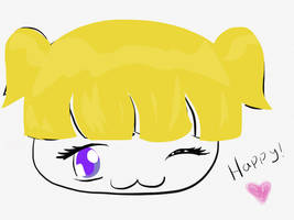 Happy Blonde by DarkAngle00
