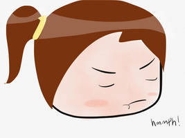 Grumpy Chibi by DarkAngle00