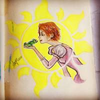 Rapunzel by AwyrGreen