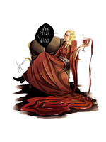Cersei Lannister by AwyrGreen
