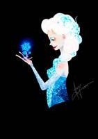 Queen Elsa by AwyrGreen