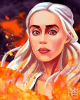Daenerys by AwyrGreen