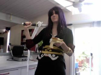 Yuri failed at making Sandwich by Mirrankei