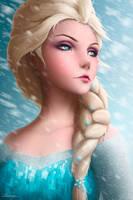 Queen Elsa by Zarory