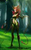 Zyra, Rise of the Thorns by Zarory