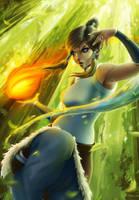 The Legend of Korra by Zarory